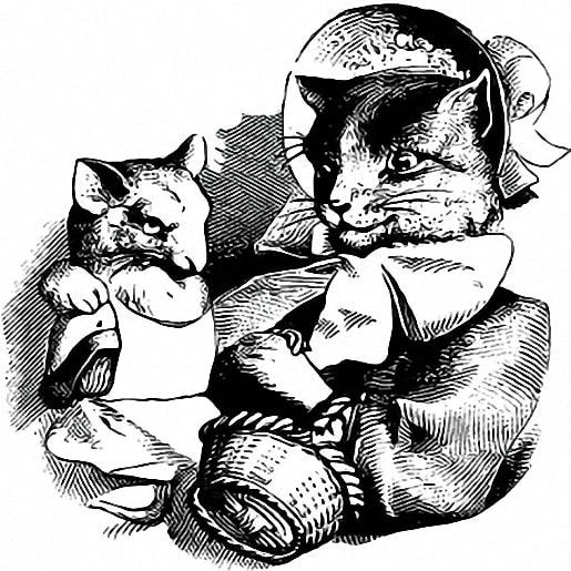 Сказка Кошка и мышка вдвоем, Братья Гримм - читать для ...