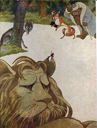 Лев и муха   Изображение - 1