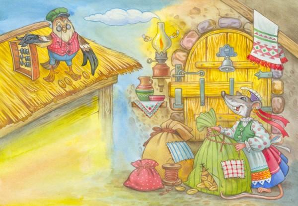 Мышь зубастая да воробей богатый | Изображение - 1