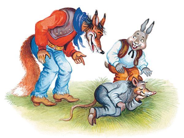 Как Братец Кролик управился с маслом