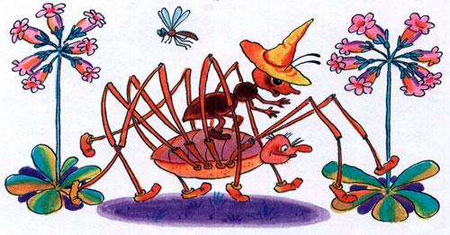 Как муравьишка домой спешил - фото 4