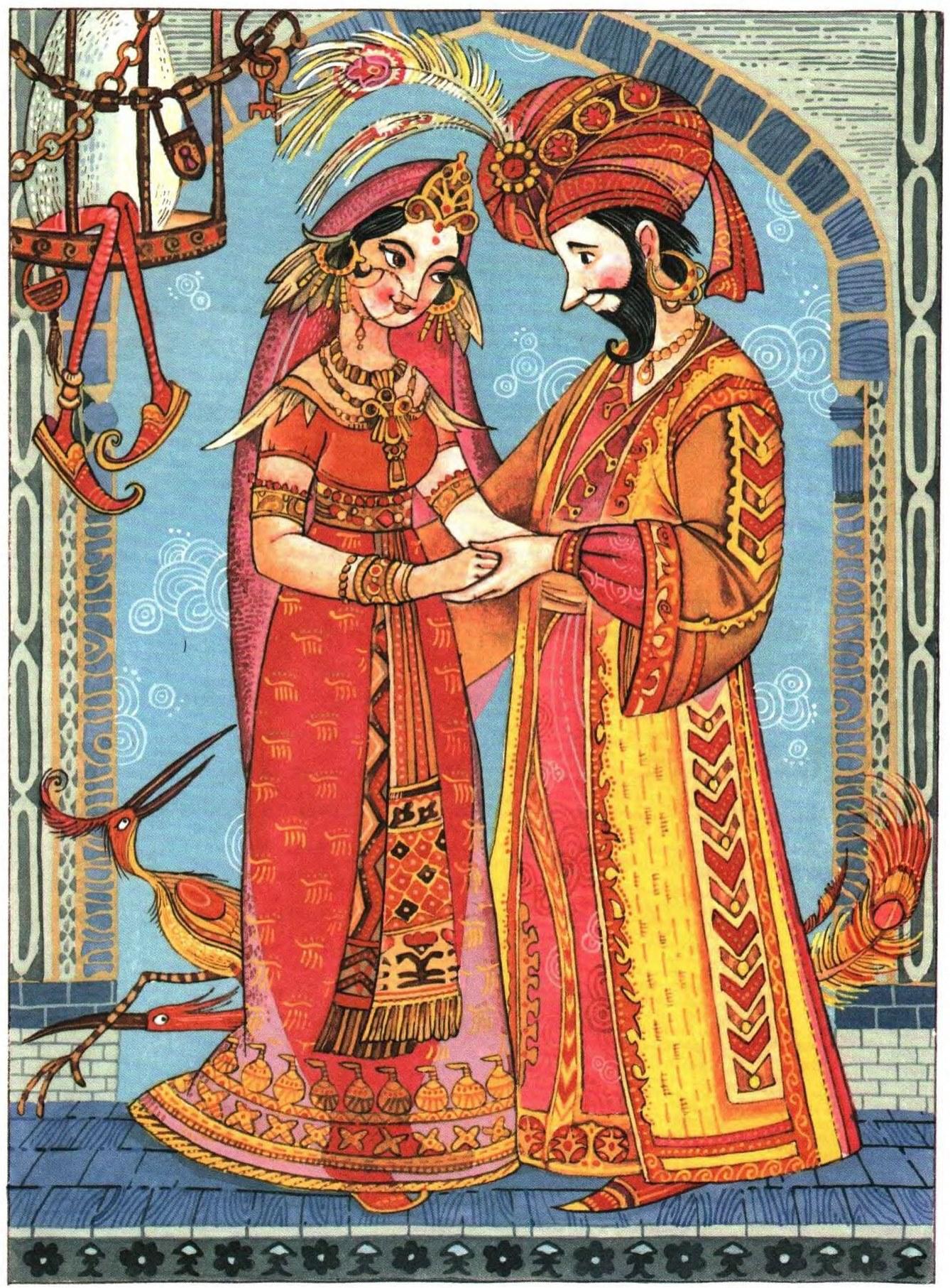 Картинки к сказке калиф аист