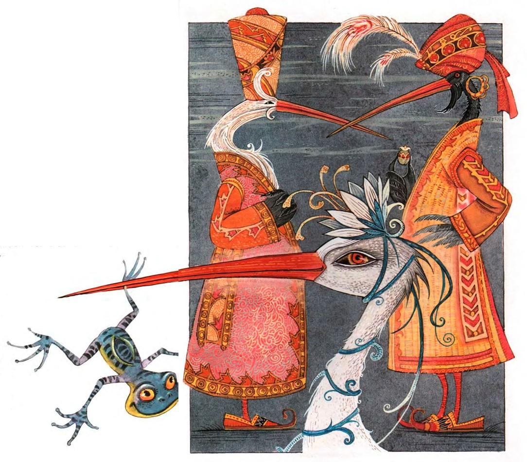 """Вильгельм Гауф. """"Калиф-аист"""". Иллюстрации Максима Митрофанова."""