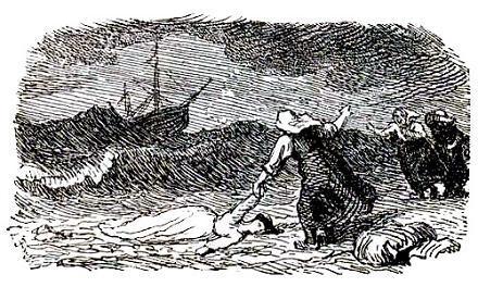 утопленницу выкинуло на берег волной