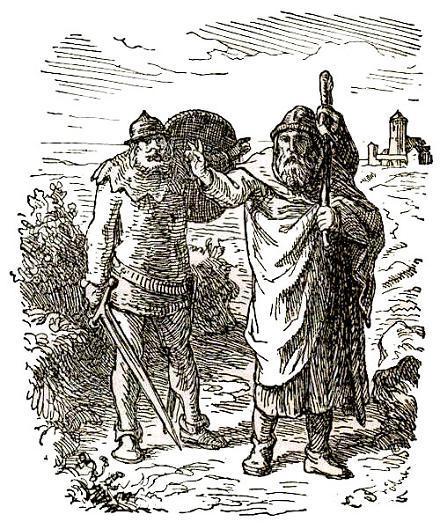 старец и стражник