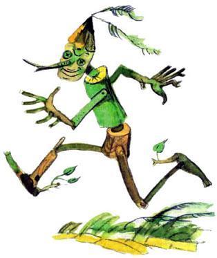 Реллем, гонец правителя Изумрудного острова, Трижды Премудрого Страшилы