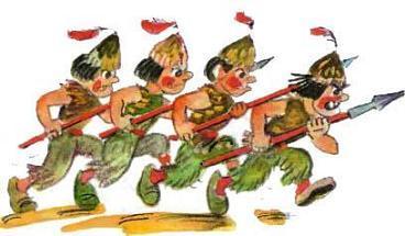 Марраны идут строем на войну
