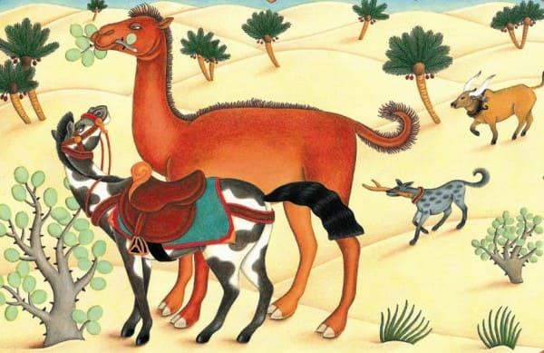 Киплинг Отчего у верблюда горб читать онлайн