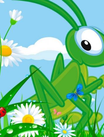 В траве сидел кузнечик, Песни для малышей