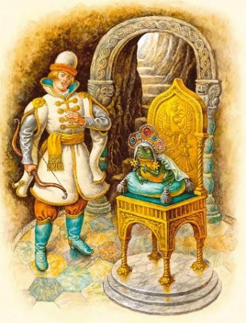 Царевна лягушка, Сказка
