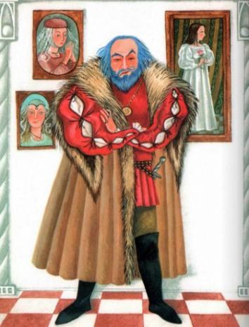 Сказка Синяя борода, Шарль Перро