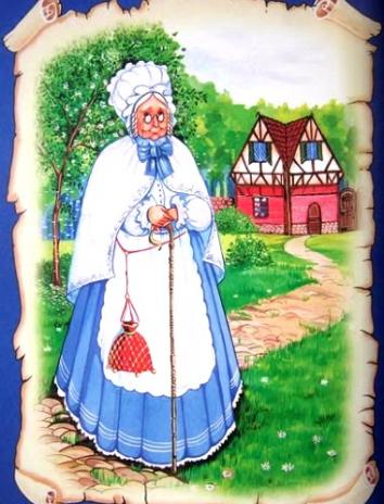 Госпожа Метелица, Сказка