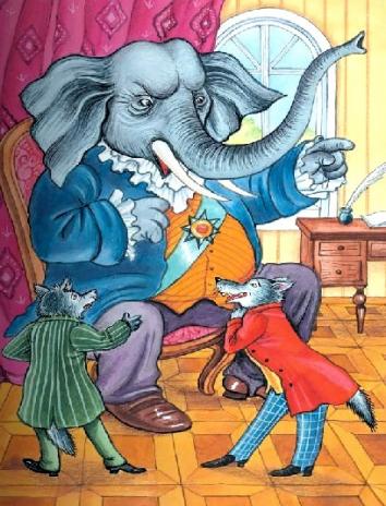 Сказка Слон на воеводстве, Крылов Иван