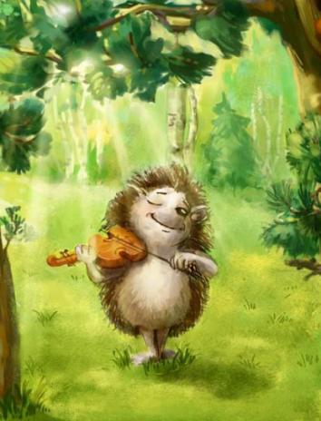 Ёжикина скрипка, Сказка