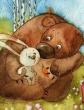 Заяц и медвежонок