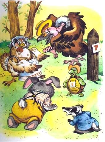 Как Братец Черепаха победил Братца Кролика, Сказка