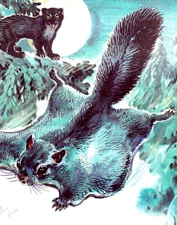Голубой зверёк, Рассказ