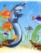 Дружили как-то рыба Угорь и рыба Тяй