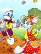 Воробей и мышь, Сказка
