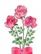Три розы, Сказка