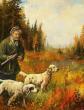 Охотник и собаки, Рассказ