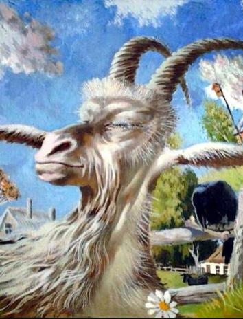 Упрямый козел, Сказка