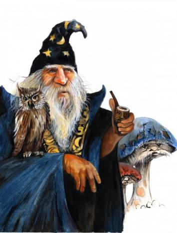 Злой волшебник, Сказка