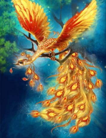 Диковинная птица, Сказка