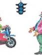 Голубой светофор, Сказка