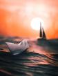 Белый кораблик, Рассказ