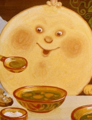 Толстый жирный блин, Сказка