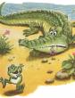 О знаменитом крокодиле и лягушонке, Сказка