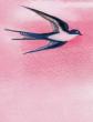 Ласточка и ворона, Басня