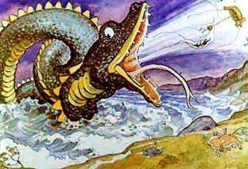 Лэмтонский змей, Сказка