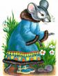 Мышь-хвастунишка, Сказка