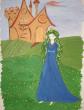 Зеленоволосая принцесса, Сказка