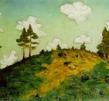 Могильный холм, Сказка