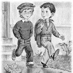 Два Мальчика, Басня