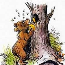 Медведь у Пчел, Басня