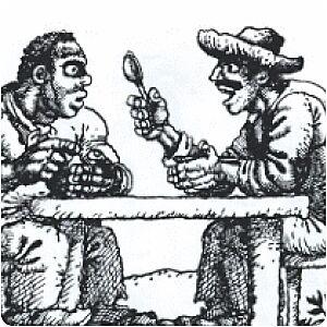 За круглым столом, Сказка