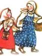 Девочка и грибы, Рассказ