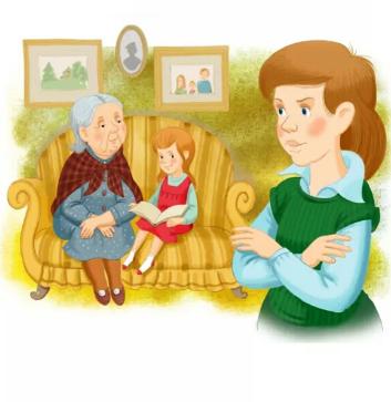 Сказка Бабушка и внучка, Осеева Валентина