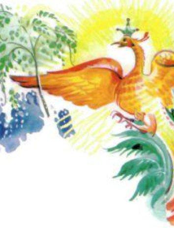 Чудо-птица, Сказка