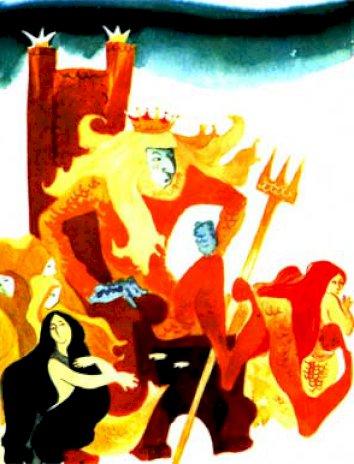 Сказка про морского царя и китов, Дональд Биссет