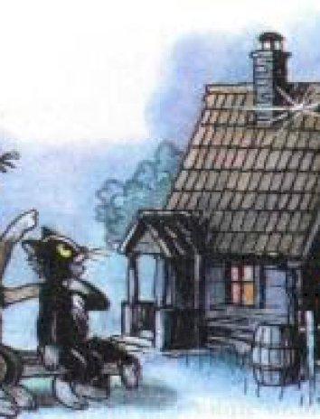 Осколок луны на черепичной крыше, Сказка