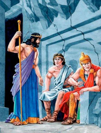 Похищение Персефоны, Сказка