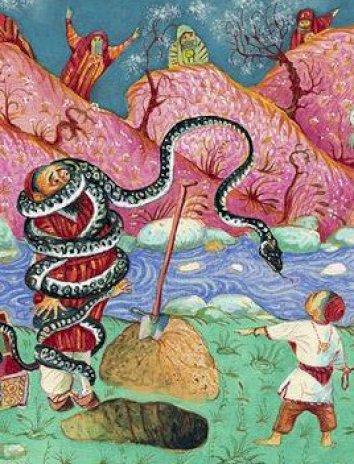 Сказка Добро и зло, Туркменская сказка