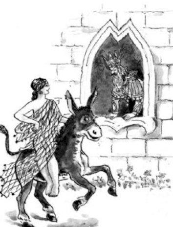 Сказка Умная дочь крестьянская, Братья Гримм