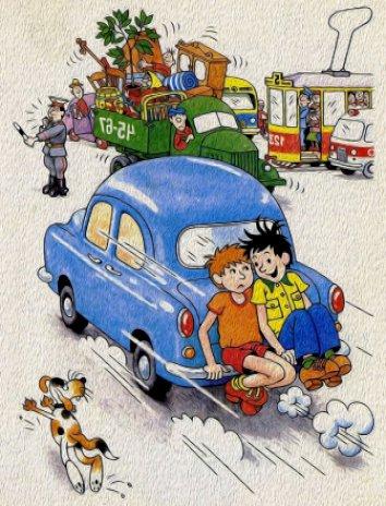 Автомобиль, Рассказ