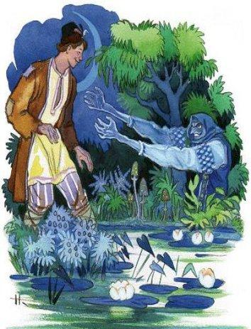 Сказка Синюшкин колодец, Бажов Павел